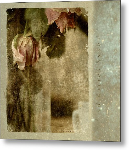 Flowers Metal Print featuring the photograph Ad Multos Annos by Inesa Kayuta