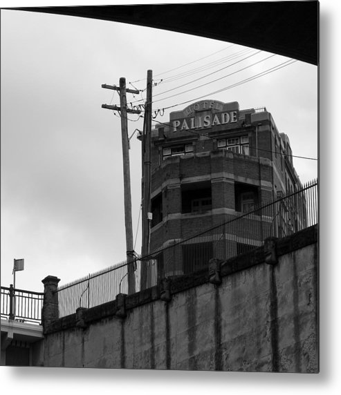 Admarshall Metal Print featuring the photograph Hotel Palisade by AD Marshall