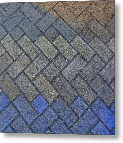 Tiling Metal Print featuring the photograph Perfect Tiling by Roberto Alamino