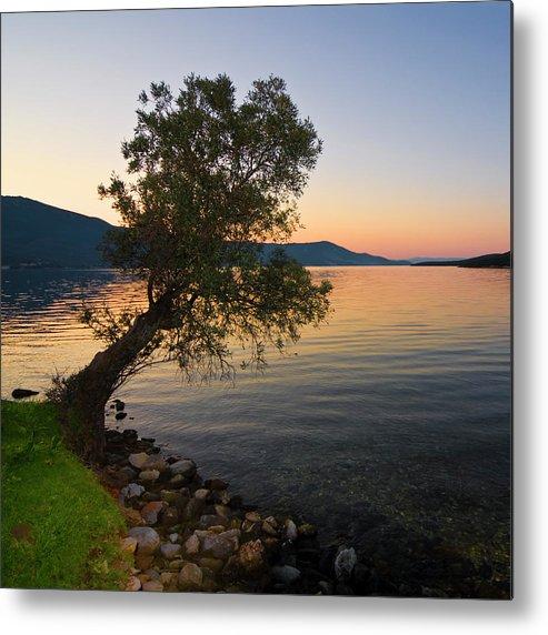 Landscapes Photography Metal Print featuring the photograph Seascape 015 by Manolis Tsantakis