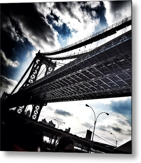 Metal Print featuring the photograph Under The Bridge by Christopher Leon