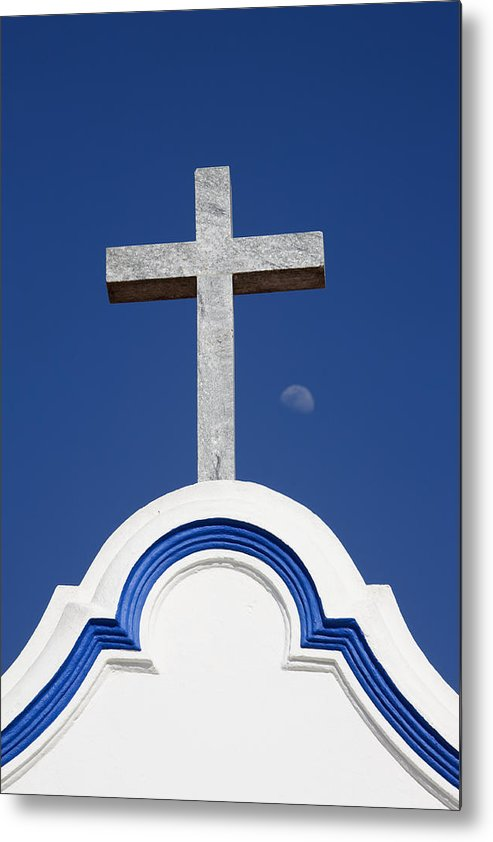 Photo Metal Print featuring the photograph Cross Over The Church by Carmo Correia