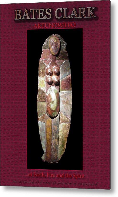 Giclee Print Metal Print featuring the digital art Aktunowihio by Bates Clark