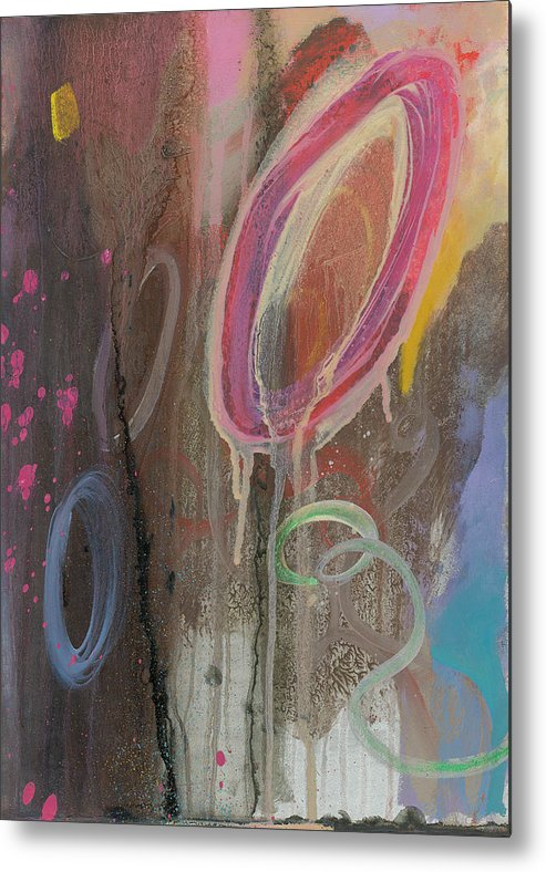 Color Metal Print featuring the painting Color Isn by F Michael Wells