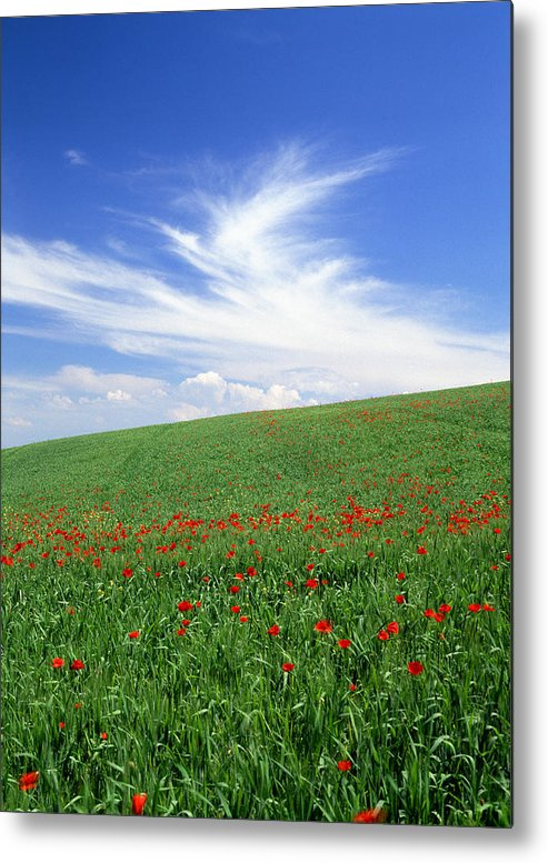 Tuscany Metal Print featuring the photograph Tuscan Clouds by Michael Hudson