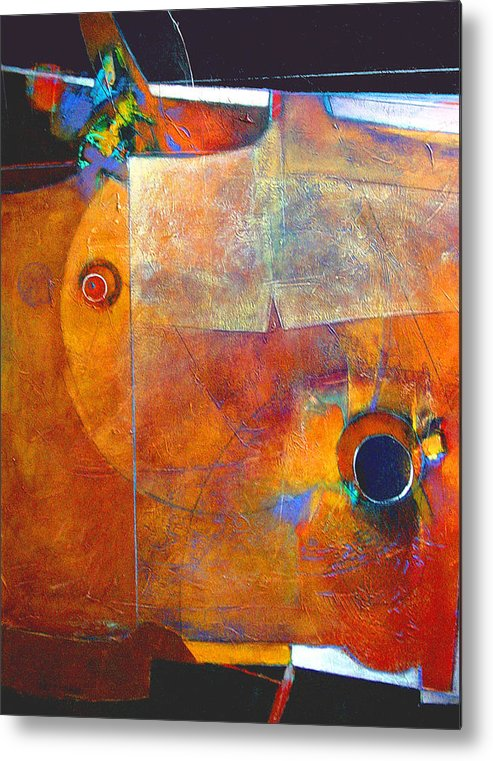 Print Metal Print featuring the painting Coffee Cup Eclipse by Dale Witherow