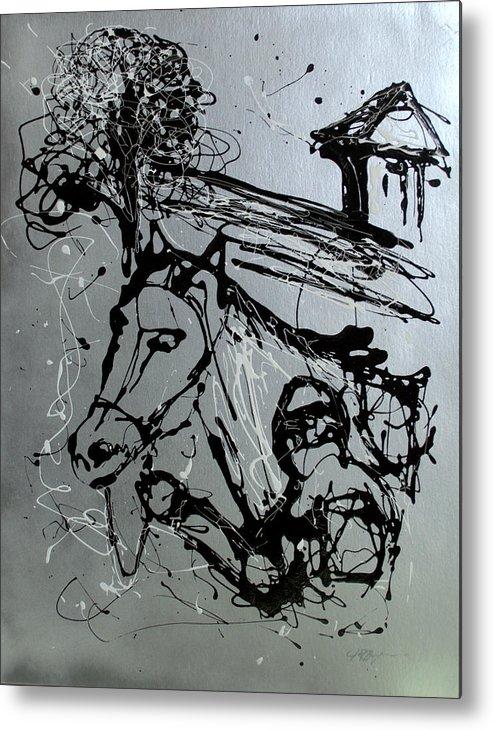 Race Horse Metal Print featuring the painting Race Day by J R Seymour