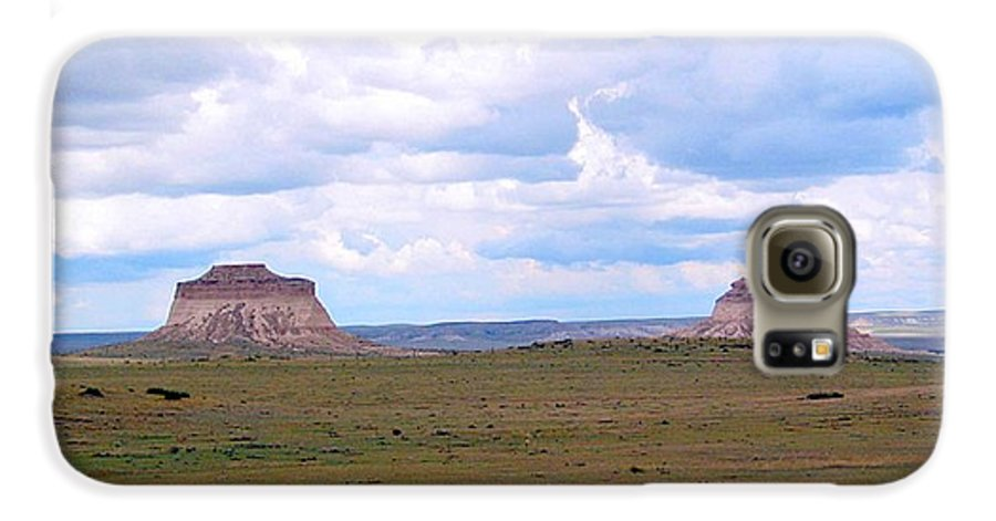 Big Sky Galaxy S6 Case featuring the photograph Pawnee Butte Colorado by Margaret Fortunato