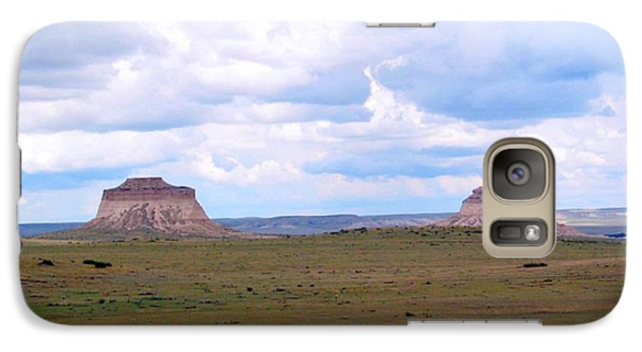 Big Sky Galaxy S7 Case featuring the photograph Pawnee Butte Colorado by Margaret Fortunato