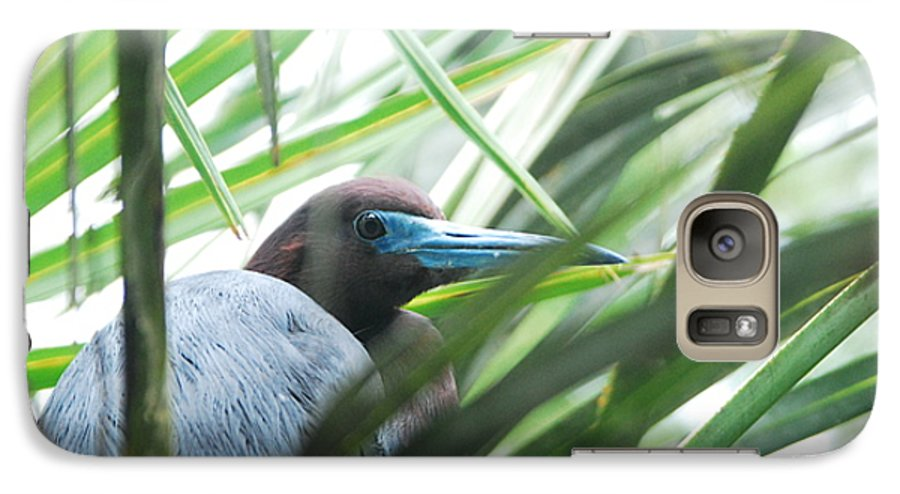 Wings Galaxy S7 Case featuring the photograph Under Her Watchful Eye by Margaret Fortunato