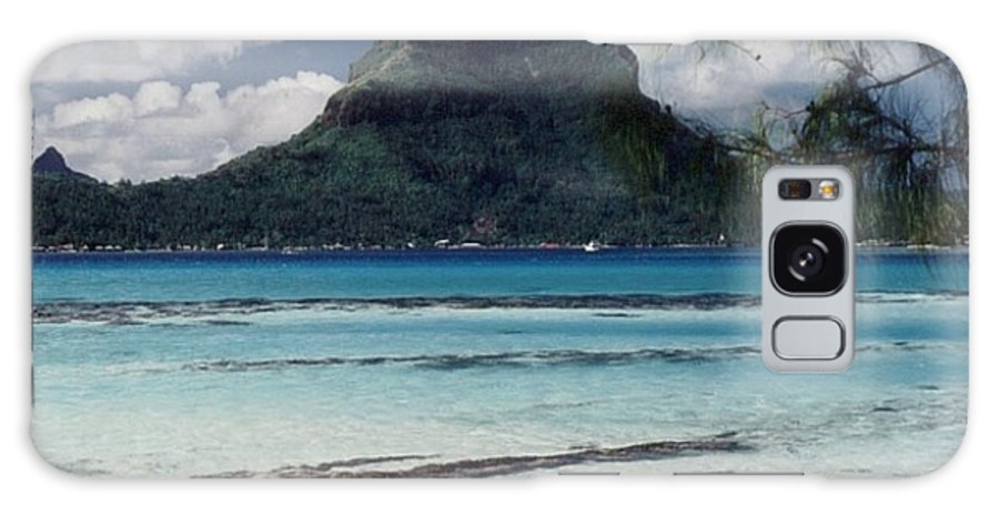 Charity Galaxy Case featuring the photograph Bora Bora by Mary-Lee Sanders