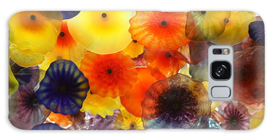 Flowers Galaxy S8 Case featuring the photograph Glass Flowers by Erin Rosenblum