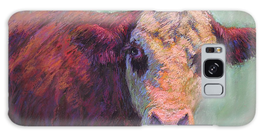 Farm Animals Galaxy Case featuring the painting Guardian by Susan Williamson