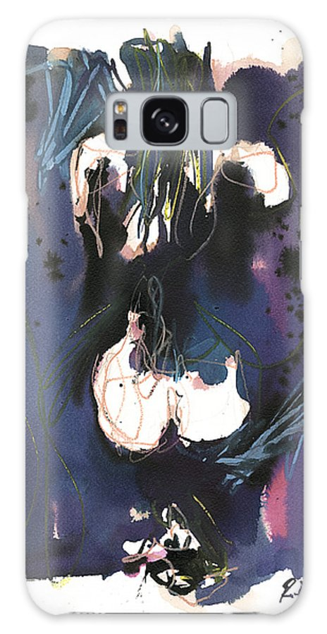 Figure Galaxy Case featuring the painting Kneeling by Robert Joyner