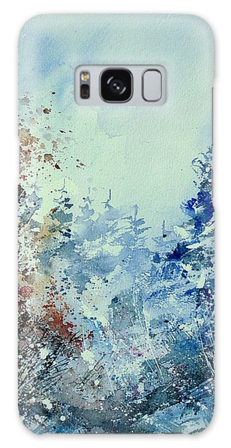 Tree Galaxy S8 Case featuring the painting Watercolor 010307 by Pol Ledent