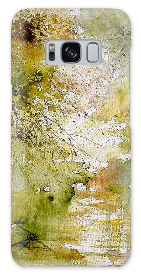 Water Galaxy S8 Case featuring the painting Watercolor 211005 by Pol Ledent