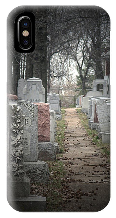 Cemetary IPhone Case featuring the photograph Closure by Albert Stewart
