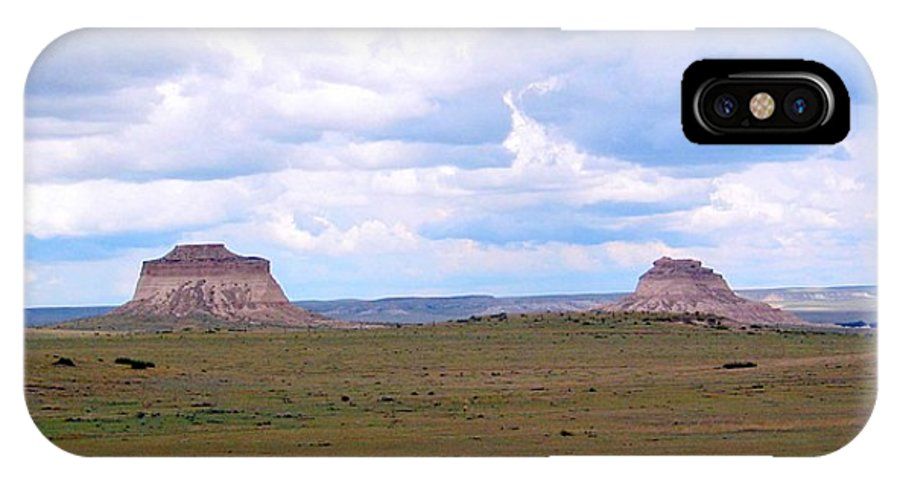 Big Sky IPhone X Case featuring the photograph Pawnee Butte Colorado by Margaret Fortunato