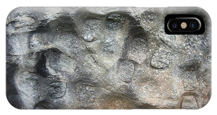 Photograph Softstone Soft Stone Newfoundland Atlantic Baieverte IPhone X / XS Case featuring the photograph Softstone by Seon-Jeong Kim