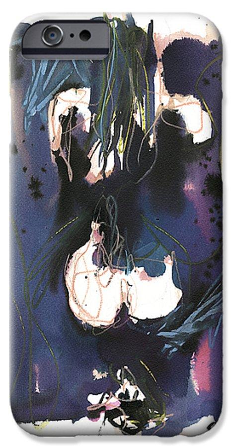 Figure IPhone 6 Case featuring the painting Kneeling by Robert Joyner