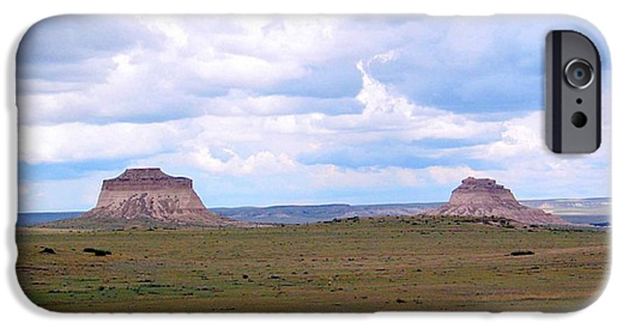 Big Sky IPhone 6 Case featuring the photograph Pawnee Butte Colorado by Margaret Fortunato