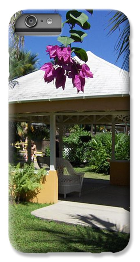 Gazebo IPhone 6 Plus Case featuring the photograph Tranquility by J Andrel