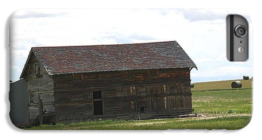Landscape IPhone 6 Plus Case featuring the photograph Grassland Farm by Margaret Fortunato