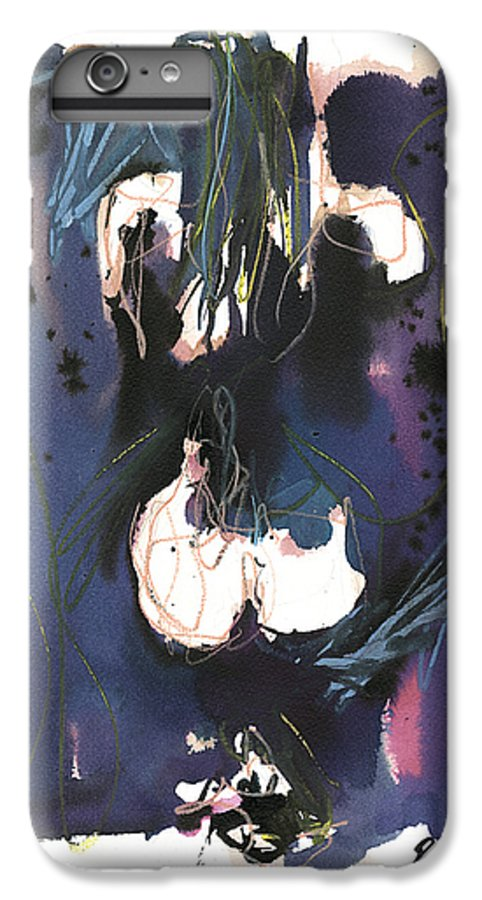 Figure IPhone 6 Plus Case featuring the painting Kneeling by Robert Joyner