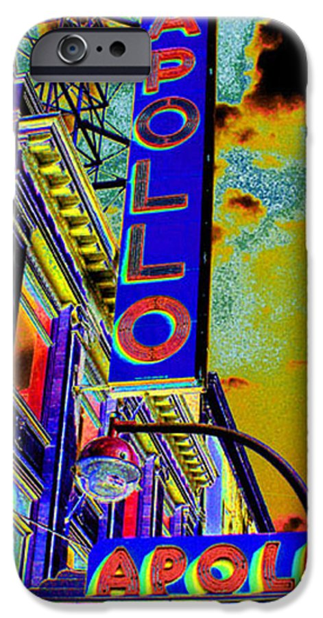 Harlem IPhone 6s Case featuring the photograph The Apollo by Steven Huszar