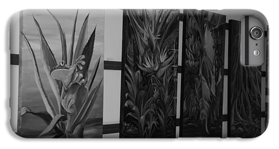 Black And White IPhone 6s Plus Case featuring the photograph Hanging Art by Rob Hans