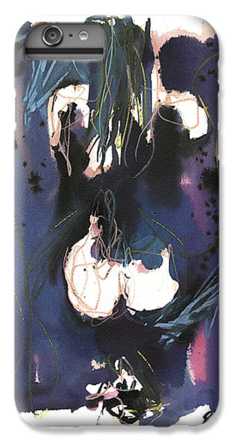Figure IPhone 6s Plus Case featuring the painting Kneeling by Robert Joyner