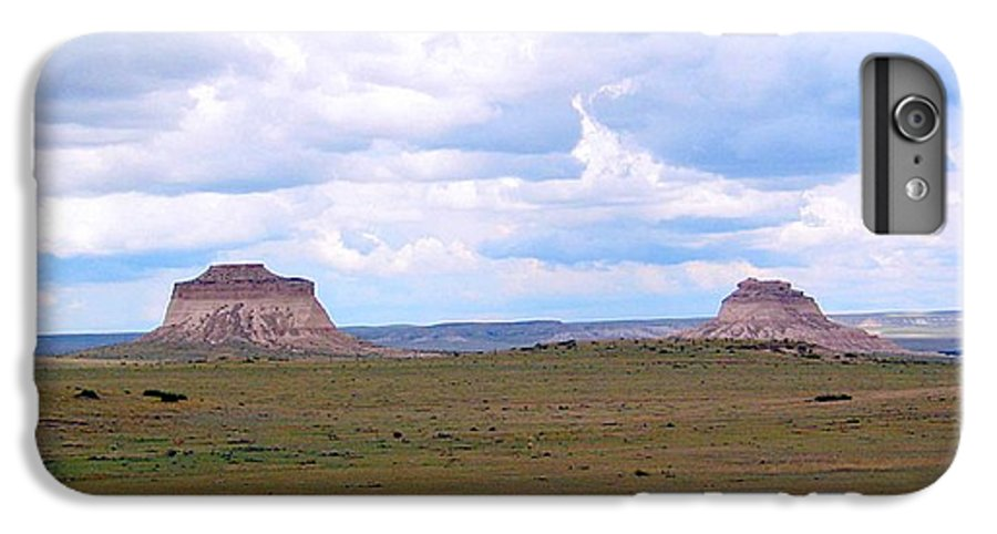 Big Sky IPhone 6s Plus Case featuring the photograph Pawnee Butte Colorado by Margaret Fortunato