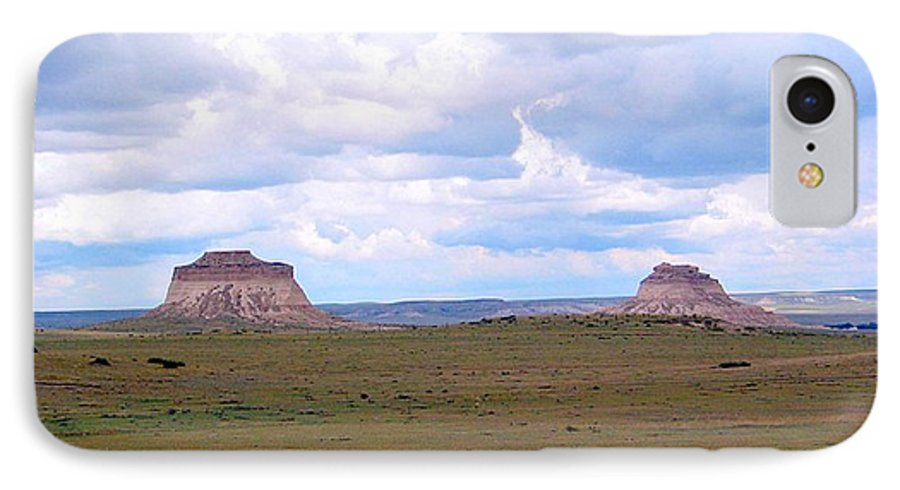 Big Sky IPhone 7 Case featuring the photograph Pawnee Butte Colorado by Margaret Fortunato