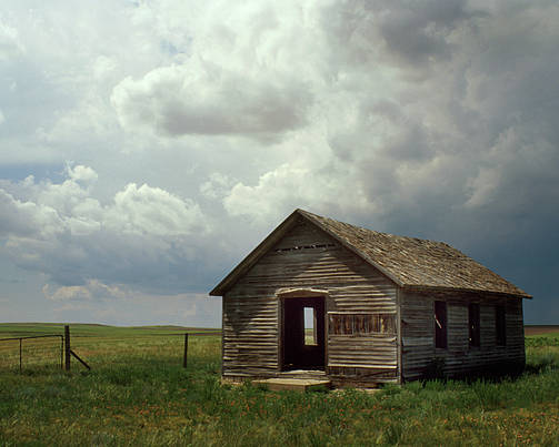 Nebraska Poster featuring the photograph Prairie Church by Jerry McElroy
