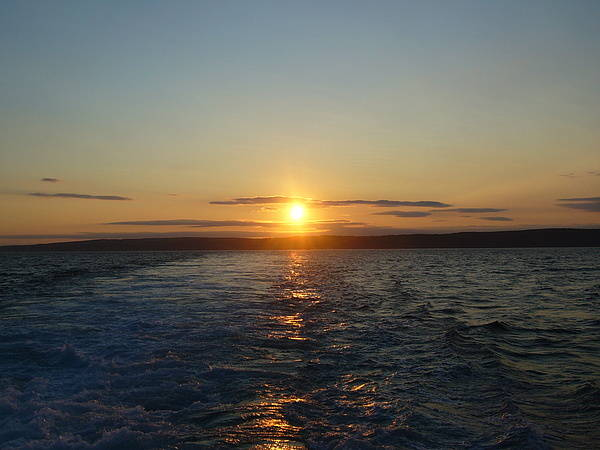 Sunset Poster featuring the photograph Sunset On The Horizon 2 by Sharon Stacey