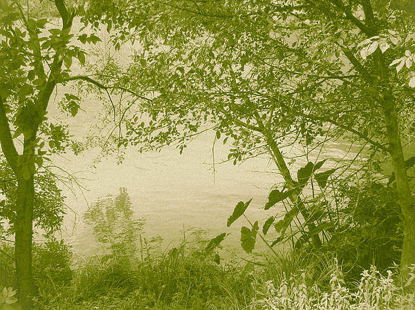 Landscape Poster featuring the photograph A Moment Of Peace by Wendy J St Christopher