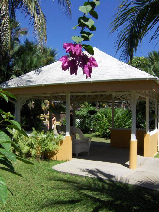 Gazebo Poster featuring the photograph Tranquility by J Andrel