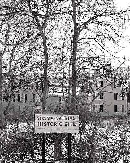 John Quincy Adams Poster featuring the photograph John Quincy Adams House Ll by Heather Weikel