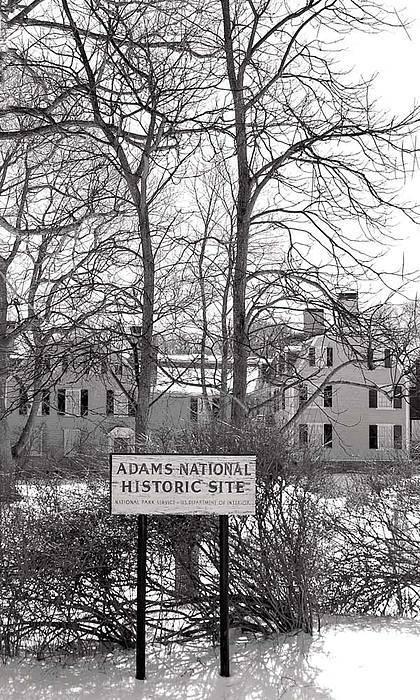 John Quincy Adams Art Print featuring the photograph John Quincy Adams House Ll by Heather Weikel