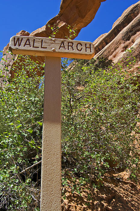 Wall Arch Art Print featuring the photograph Wall Arch Arches Utah by Kristen Vota
