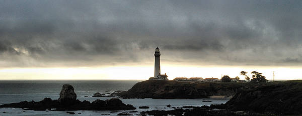 Lighthouse Art Print featuring the photograph Pigeon Point Lighthouse by Nancy Chambers
