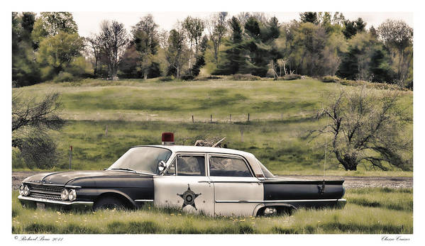 Automobile Art Print featuring the photograph Classic Cruiser by Richard Bean