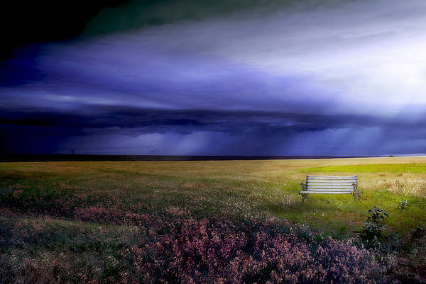 Prairie Art Print featuring the photograph What If... by Yvonne Emerson