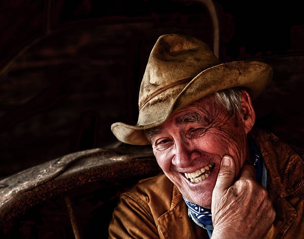 Portrait Print featuring the photograph Country Charm by Ron McGinnis