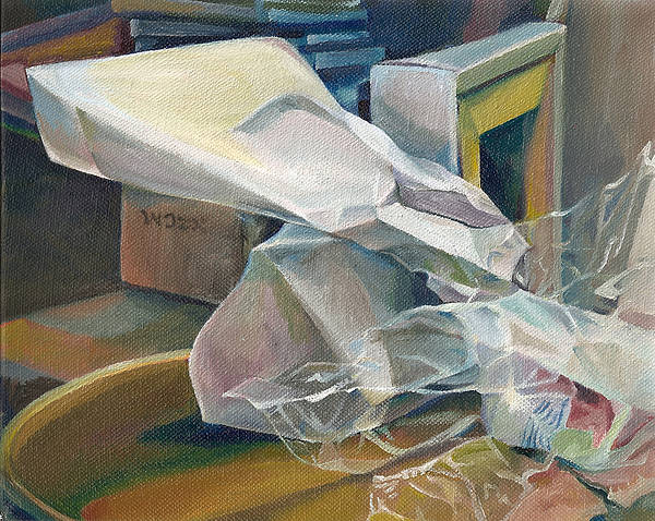 Still Life Art Print featuring the painting Still Life No.3 by Julie Orsini Shakher