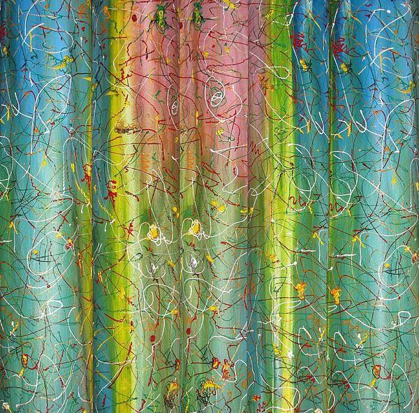 Art Art Print featuring the painting Art Fusing by Svetlana Vinokurtsev