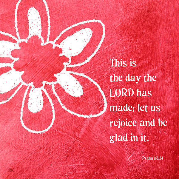 Lord Print featuring the mixed media Rejoice by Linda Woods