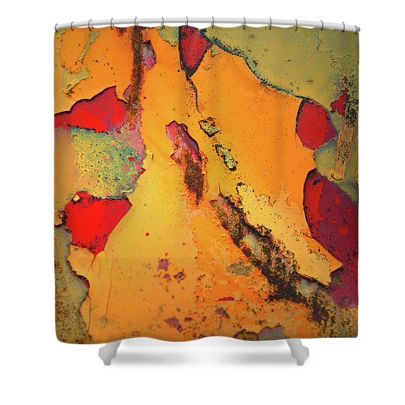 Urban Shower Curtain featuring the photograph Aging In Colour 6 by Tara Turner