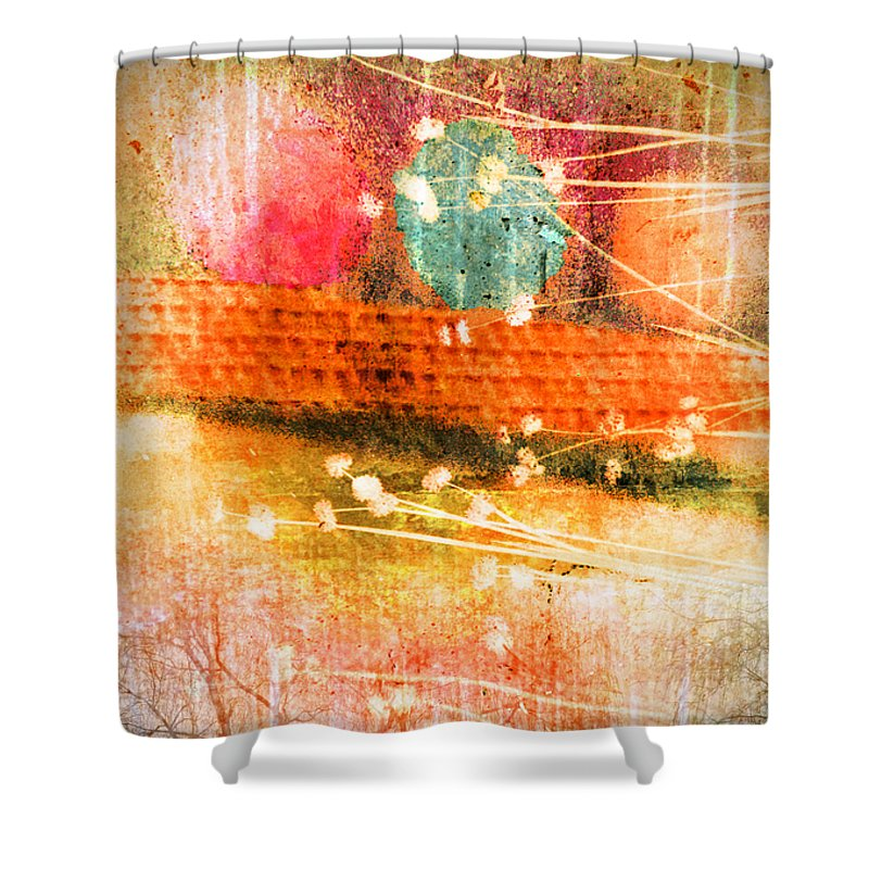 Branches Shower Curtain featuring the photograph Branches And Brush Strokes by Tara Turner