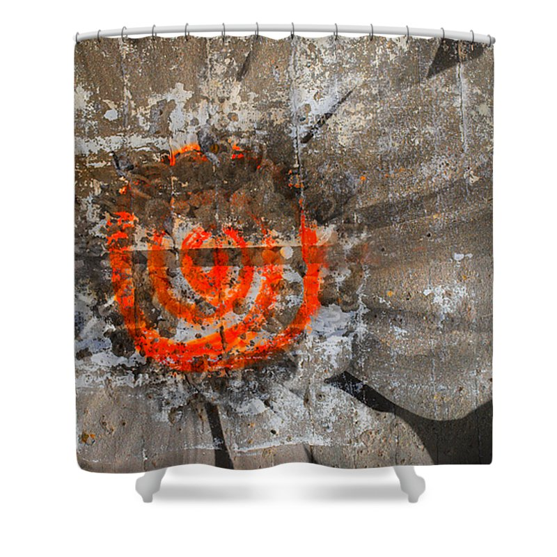 Texture Shower Curtain featuring the photograph Flower Heart by Tara Turner